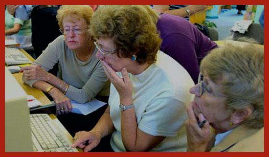 пенсионеры осваивают новую профессию