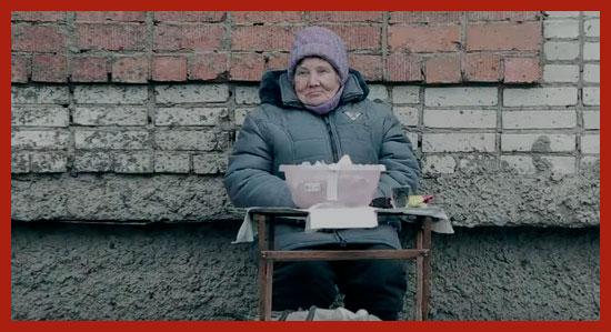 пенсионерка зарабатывает на жизнь