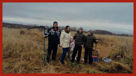 семья получила землю