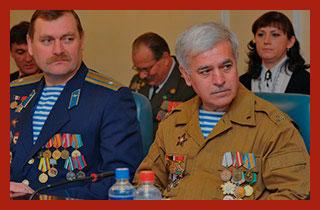 ветераны войны в Чечне