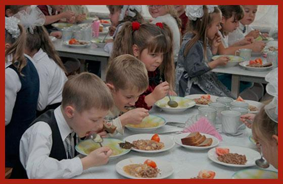 бесплатное питание в школах Санкт-Петербурга