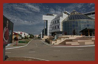 столица Республики Калмыкия - Элиста