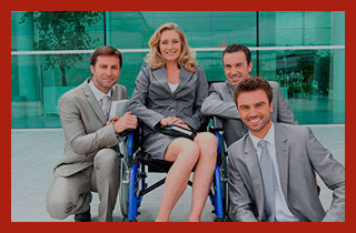 девушка инвалид ИП и ее команда