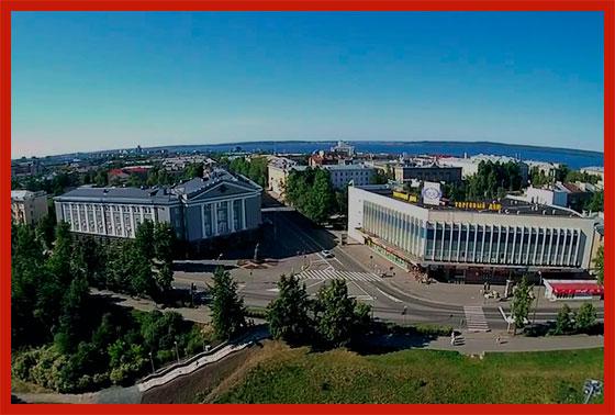 центр Карелии - Петрозаводстк