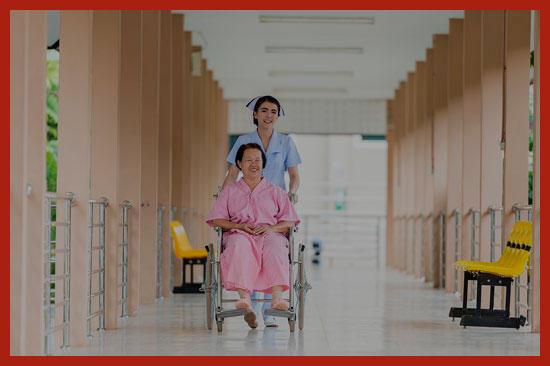 пенсионер на лечении