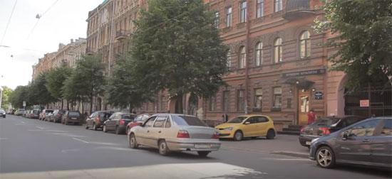 питерские улицы
