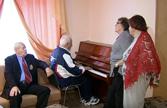 пенсионеры на санаторном лечении