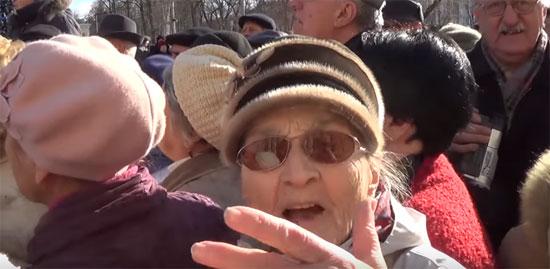 работающие пенсионеры против уменьшения пенсий