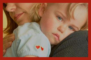 мать одиночка с ребенком