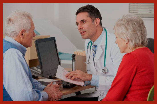 инвалид на приеме у врача
