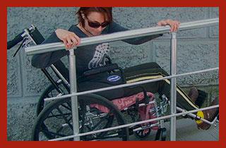 девушка инвалид