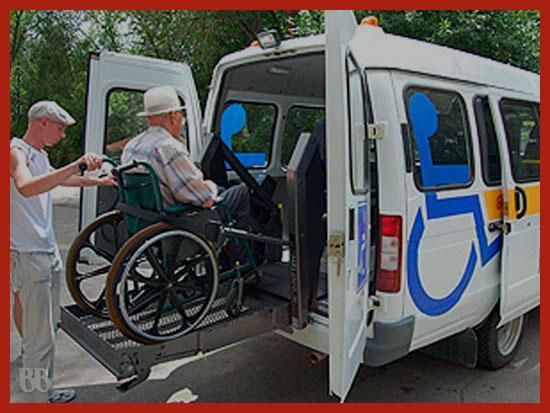 социальное такси инвалидам