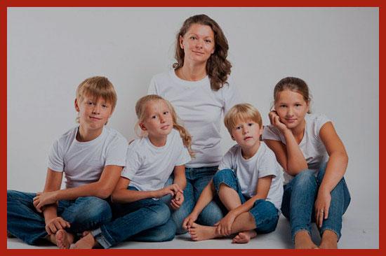 многодетные семьи Подмосковья