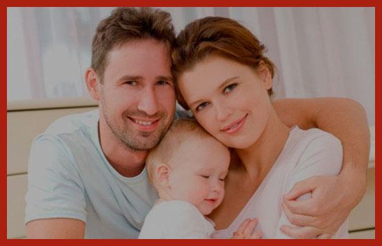 у молодой семьи родился ребенок