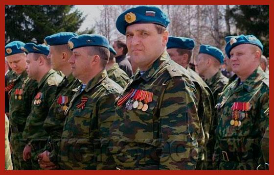 ветераны боевых действий в Чечне