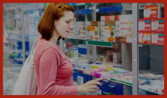 многодетная мать в аптеке