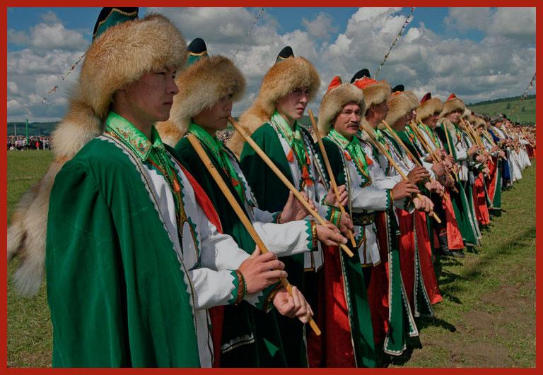 молодежь Башкортостана на празднике