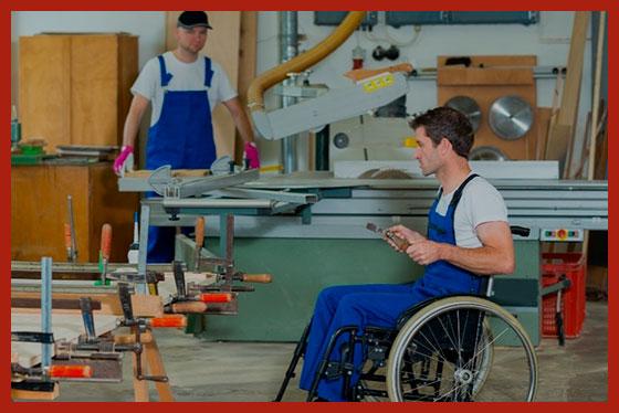 инвалид 3 группы работает в цехе