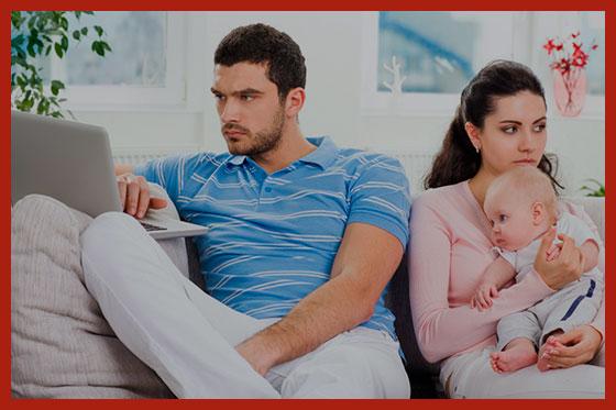 жена подает на развод и алименты