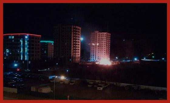 ночной труд в городе