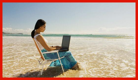 работа в отпуске