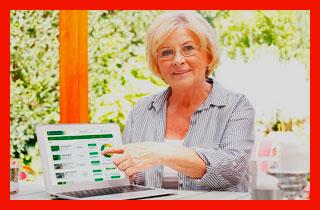 пенсионер на сайте Россельхозбанка