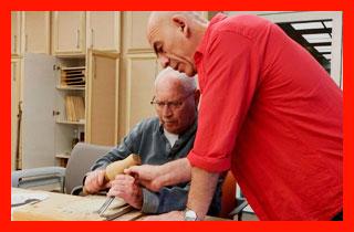 пенсионеры осваивают новую работу
