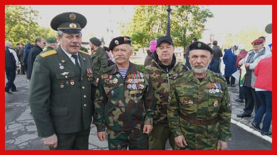 ветераны чеченской войны